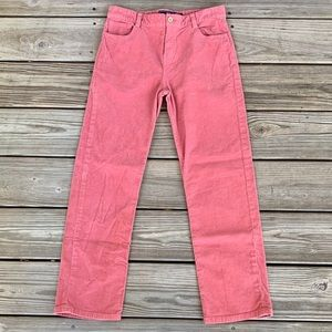 Vineyard Vines Girl's Pink 5 pocket Corduroy Pants